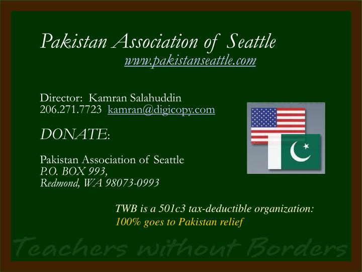 Pakistan Association of Seattle