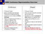 cmmi continuous representation overview1