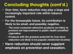 concluding thoughts cont d1