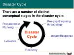 disaster cycle