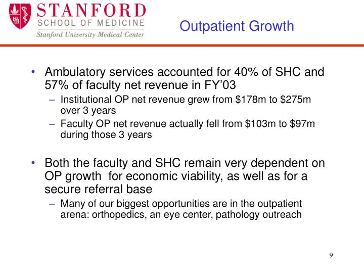 Outpatient Growth