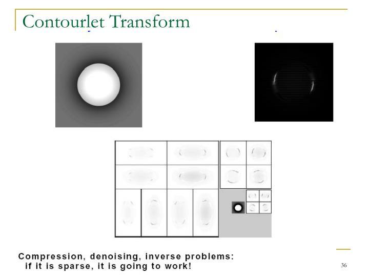 Contourlet Transform