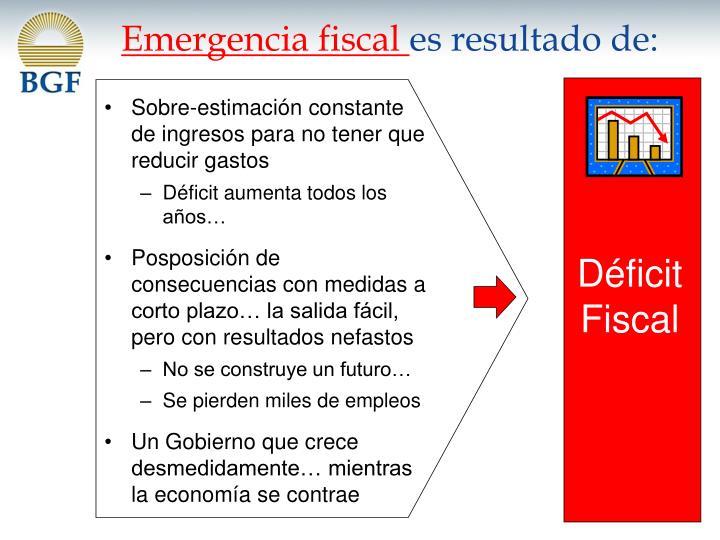 Emergencia fiscal