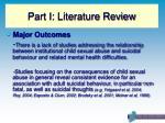 part i literature review