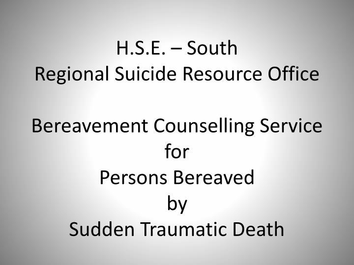H.S.E. – South