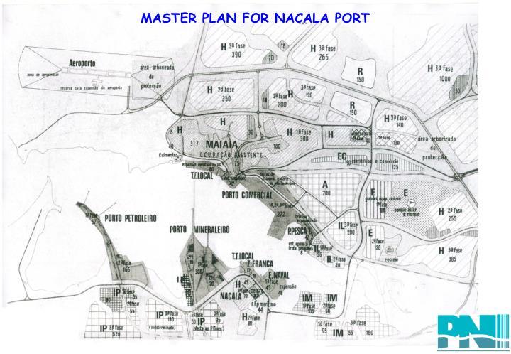 MASTER PLAN FOR NACALA PORT