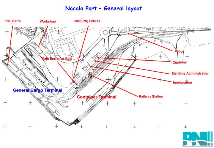 Nacala Port – General layout