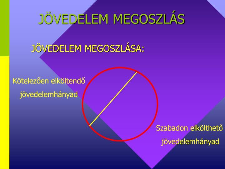 JÖVEDELEM MEGOSZLÁS