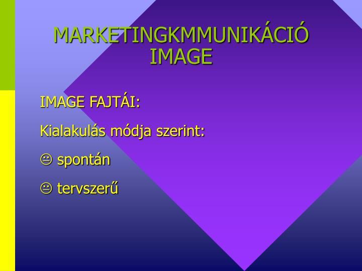 MARKETINGKMMUNIKÁCIÓ