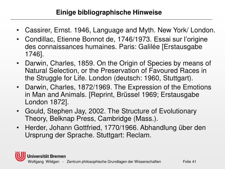 Cassirer, Ernst. 1946, Language and Myth. New York/ London.