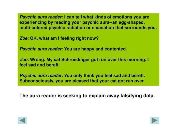 Psychic aura reader