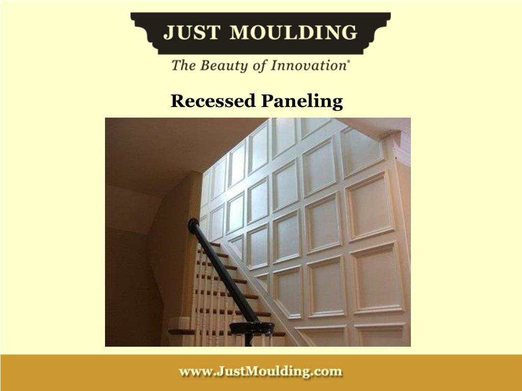 Recessed Paneling