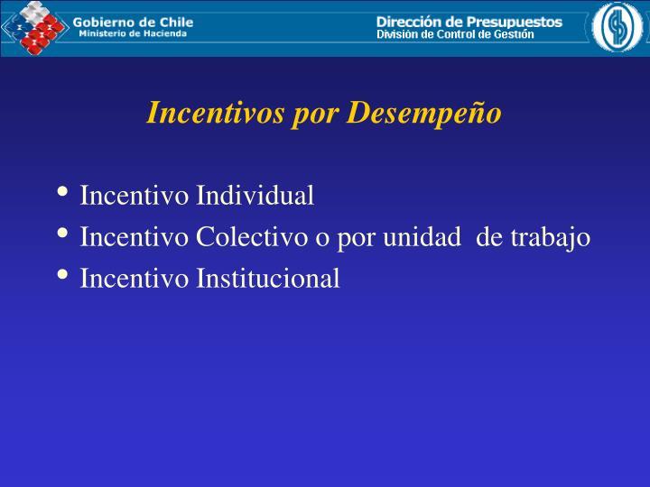Incentivo Individual
