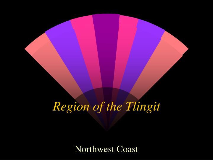 Region of the Tlingit