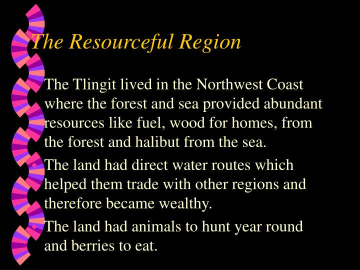 The Resourceful Region