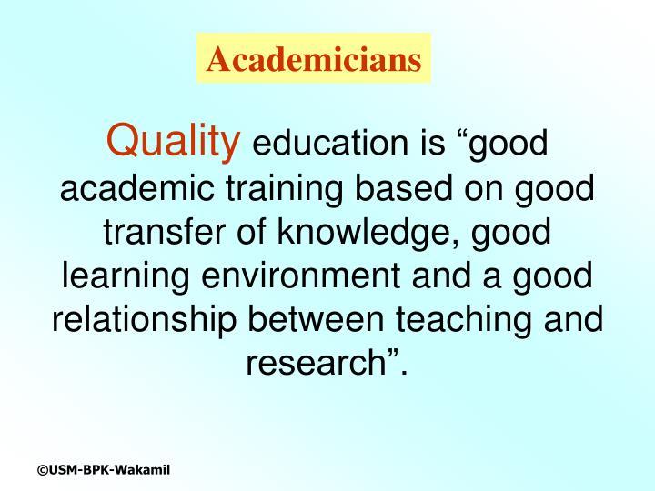 Academicians