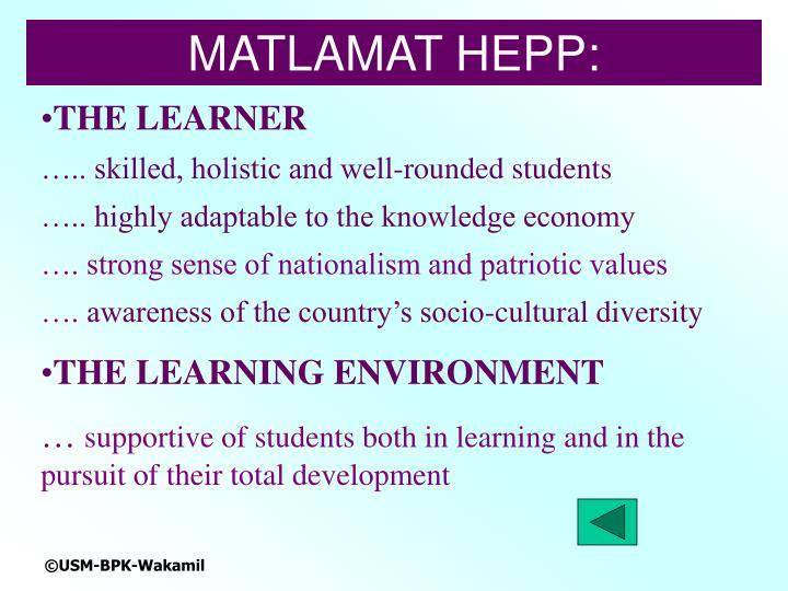 MATLAMAT HEPP: