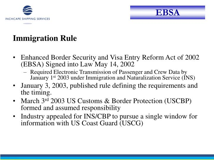 Immigration Rule