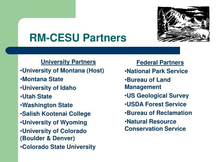 RM-CESU Partners