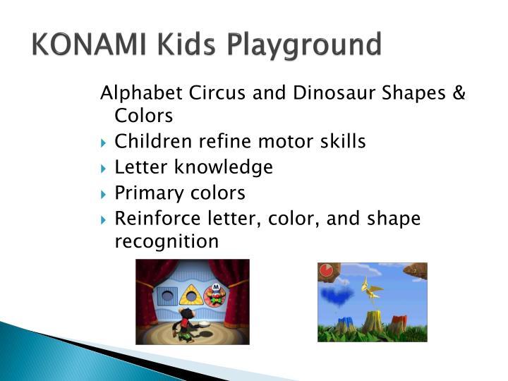 KONAMI Kids Playground
