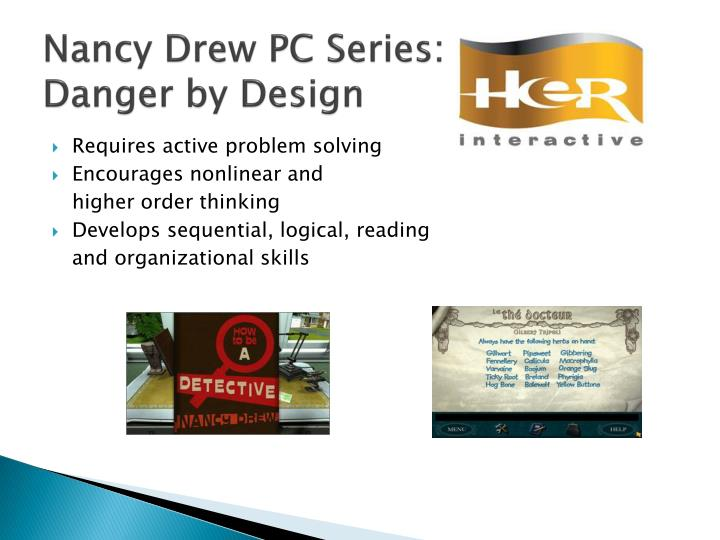 Nancy Drew PC Series: