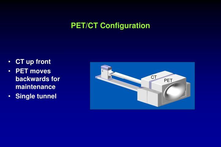 PET/CT Configuration