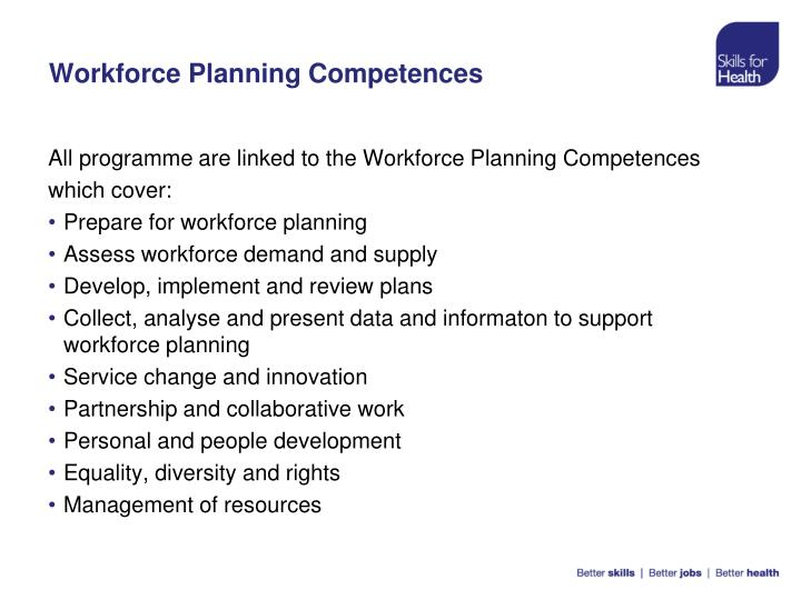 Workforce Planning Competences