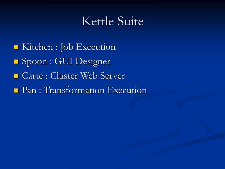 Kettle Suite
