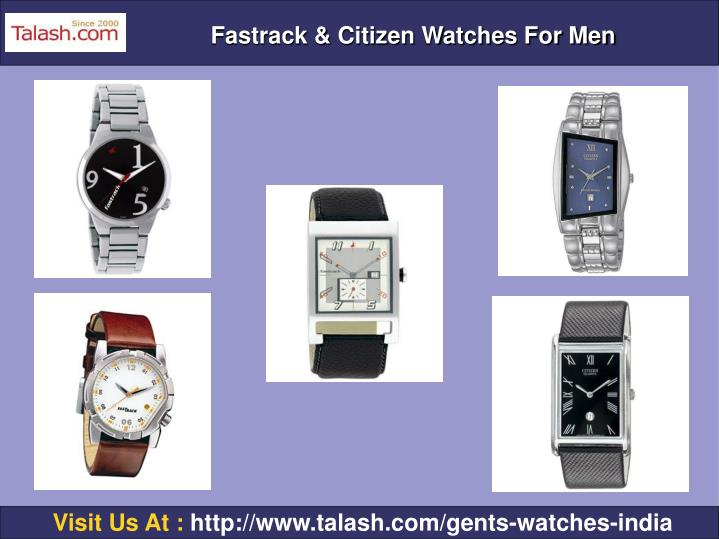 Fastrack & Citizen Watches For Men