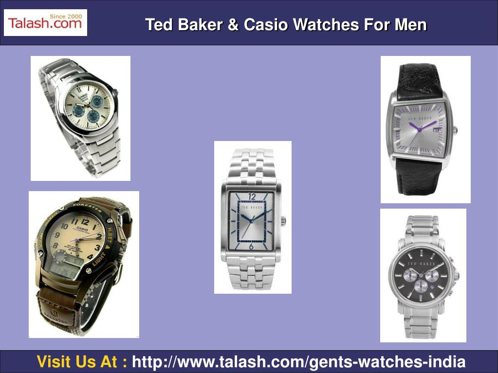 Ted Baker & Casio Watches For Men