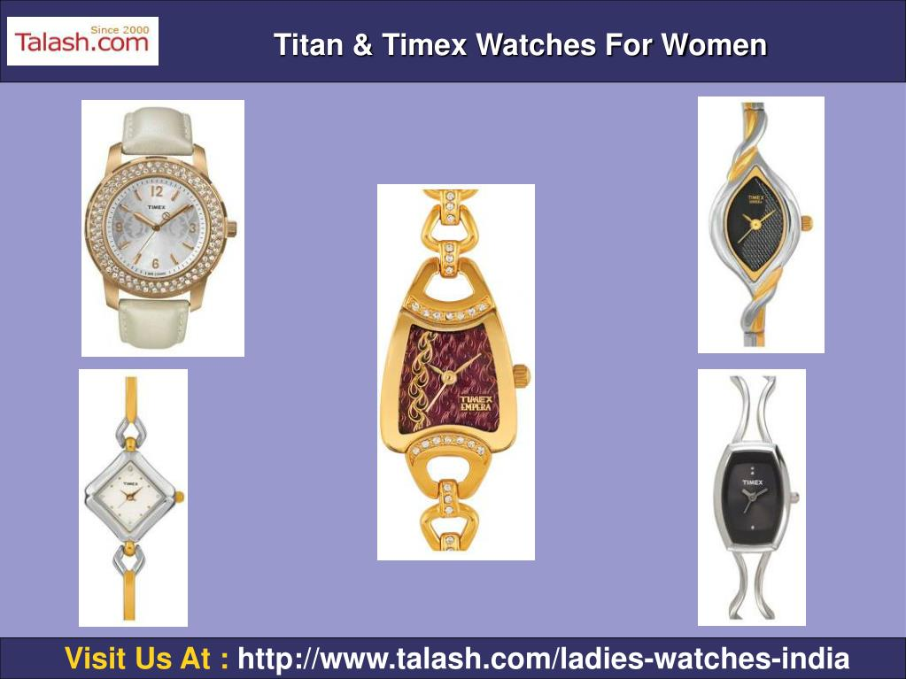 Titan & Timex Watches For Women