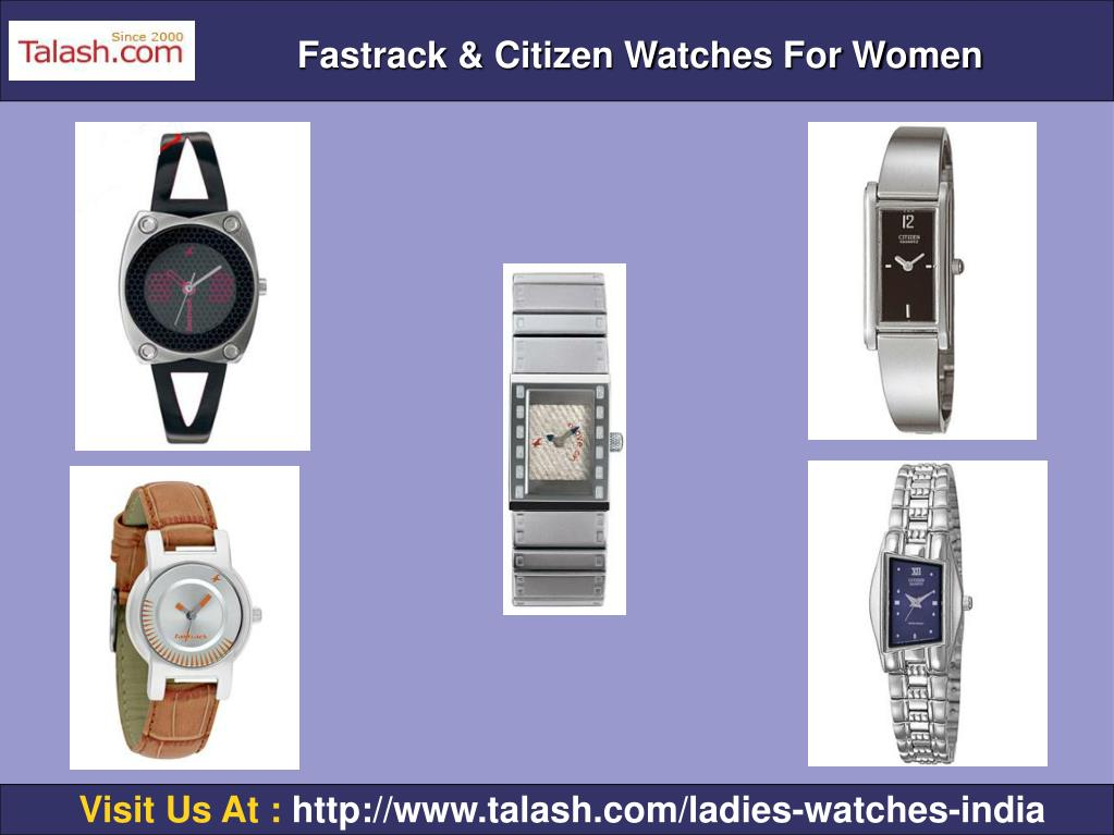 Fastrack & Citizen Watches For Women