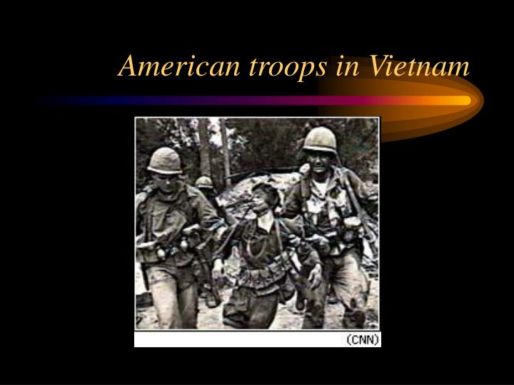 American troops in Vietnam