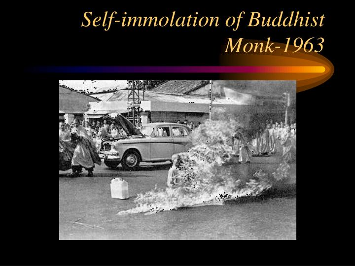 Self-immolation of Buddhist Monk-1963