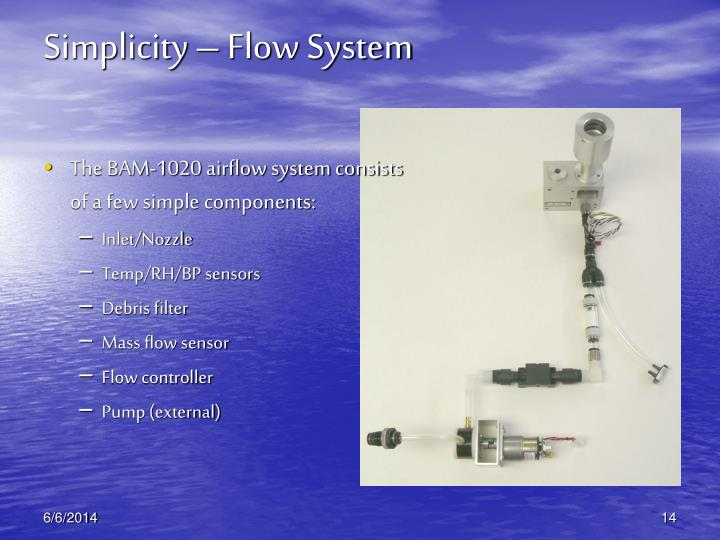 Simplicity – Flow System