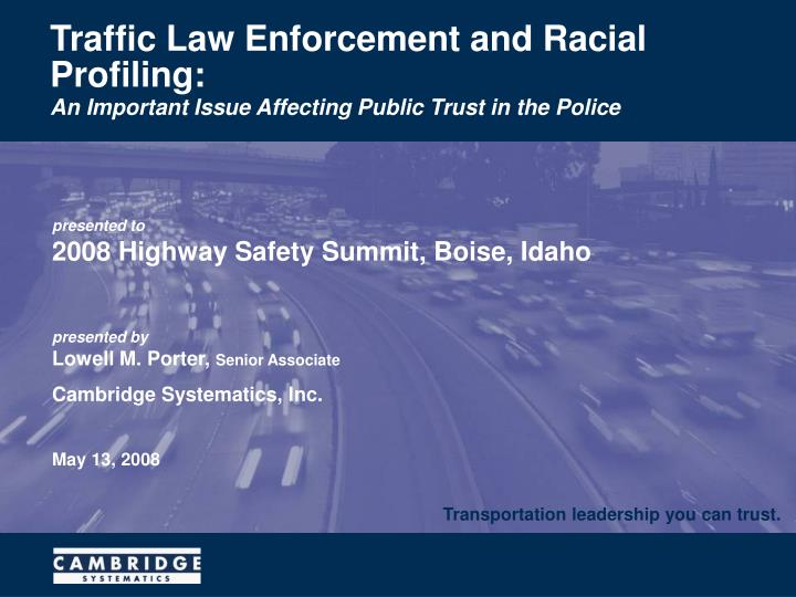 law enforcement and the prevalence of racial Law enforcement and the prevalence of racial profiling toward youth of color in the city of chicago introduction mass incarceration has become a youth phenomenon in black and latino communities ninety-five percent of all juveniles sent to adult court are youth of color (rios, 2006.