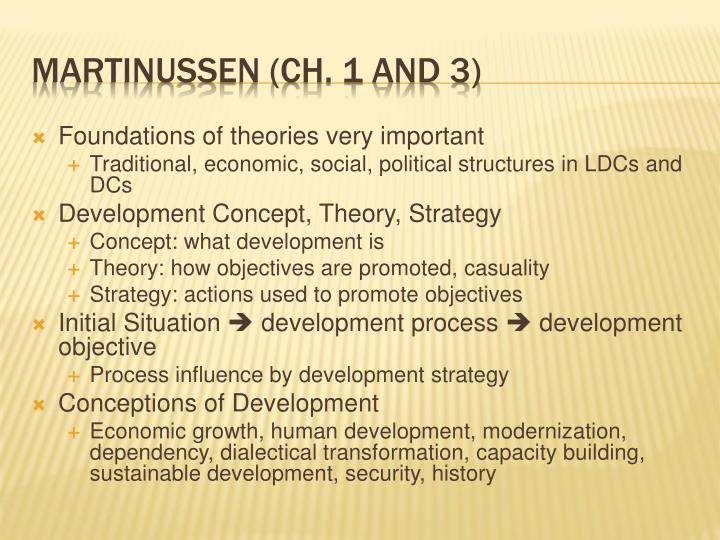 Foundations of theories very important