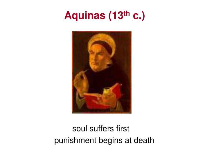 Aquinas (13