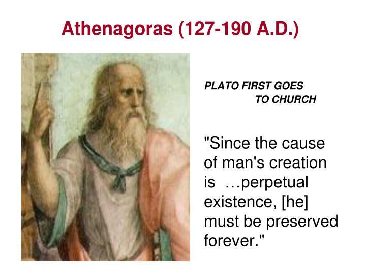 Athenagoras (127-190 A.D.)