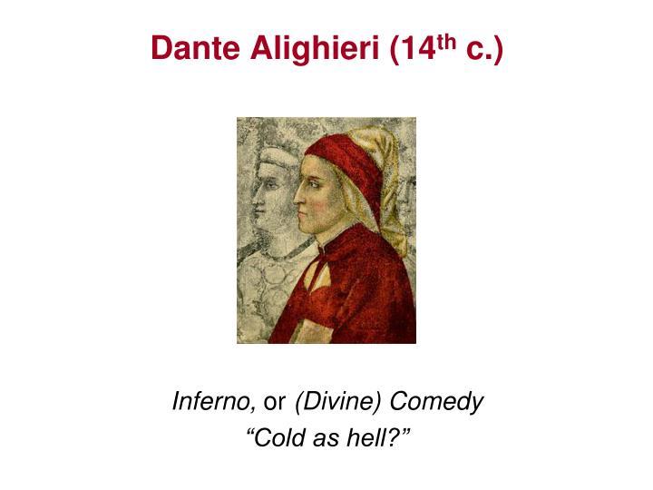 Dante Alighieri (14