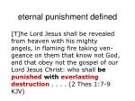 eternal punishment defined