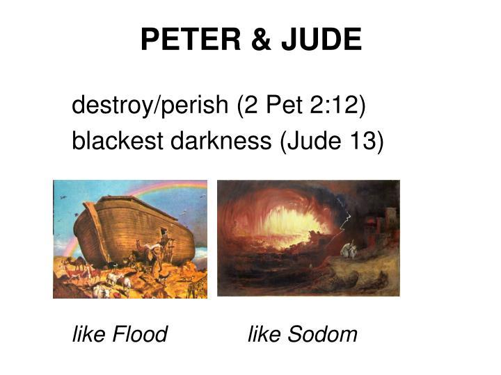 PETER & JUDE