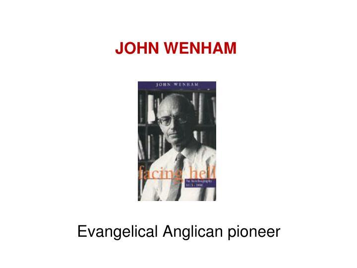 JOHN WENHAM