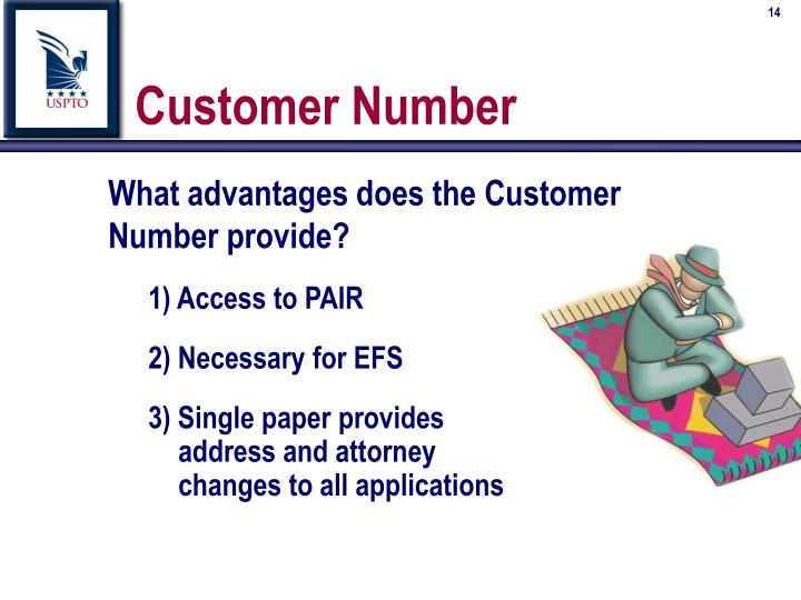 Customer Number