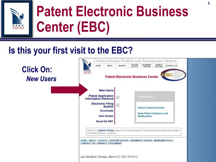Patent Electronic Business