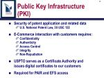 public key infrastructure pki