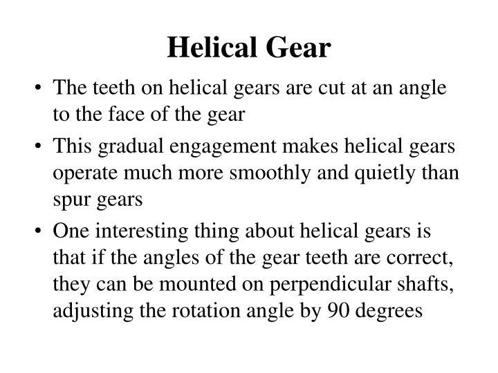 Helical Gear