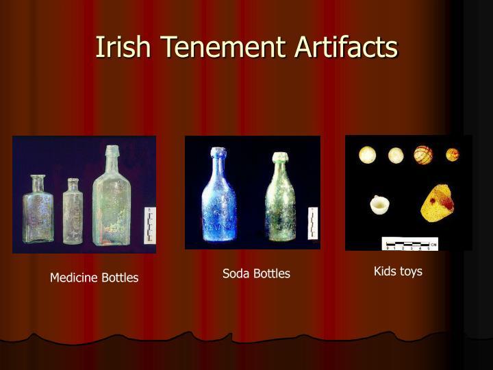 Irish Tenement Artifacts