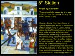 5 th station