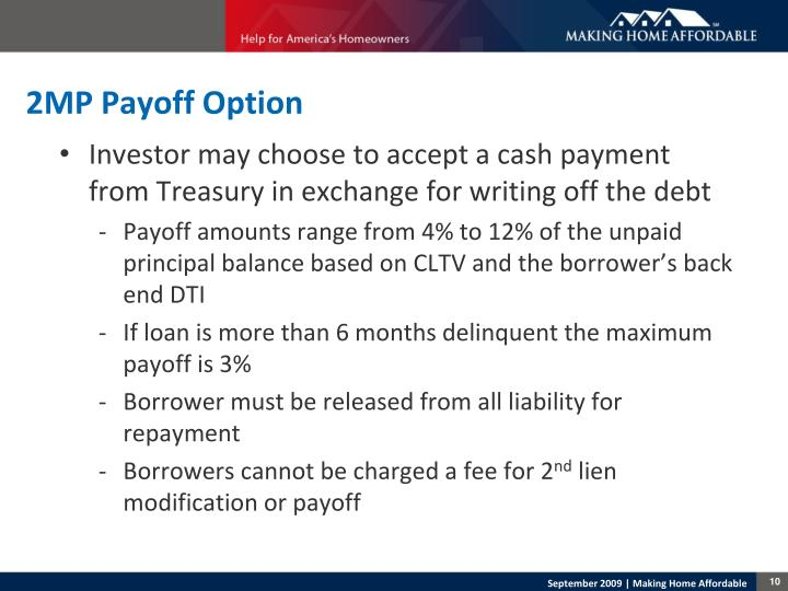2MP Payoff Option